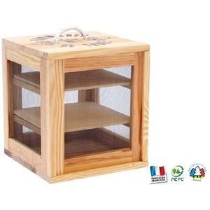 garde manger en bois naturel achat vente pi ce appareil service cdiscount. Black Bedroom Furniture Sets. Home Design Ideas