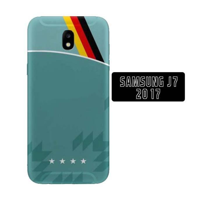 Coque Samsung Galaxy J7 2017 Floquée Maillot de Foot Allemagne ...
