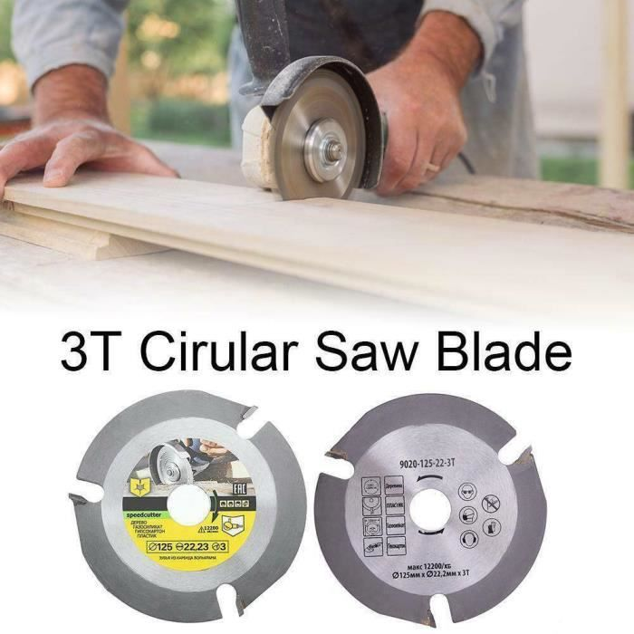 Cercle de scie lame de scie pour 125 mm Angle Meuleuse Meuleuse 24-Dents g00105