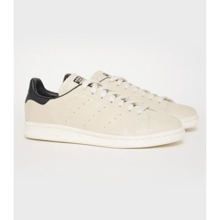 Baskets Adidas Stan Smith Beige Beige Beige - Achat / Vente ...
