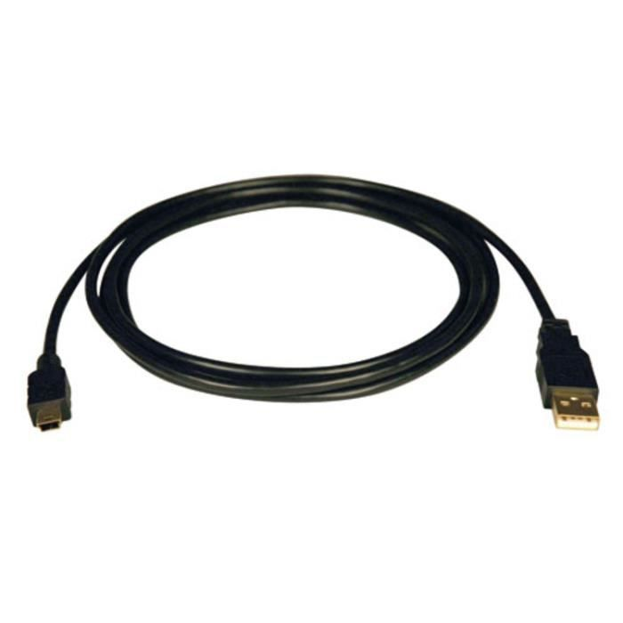 CÂBLE INFORMATIQUE Tripp Lite 3ft USB 2.0 Hi-Speed A to Mini-B Cable