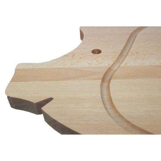Grincheux Petit-déjeuner Planche Petit Déjeuner Lamelles De Hêtre 22 x 12 cm-Motif