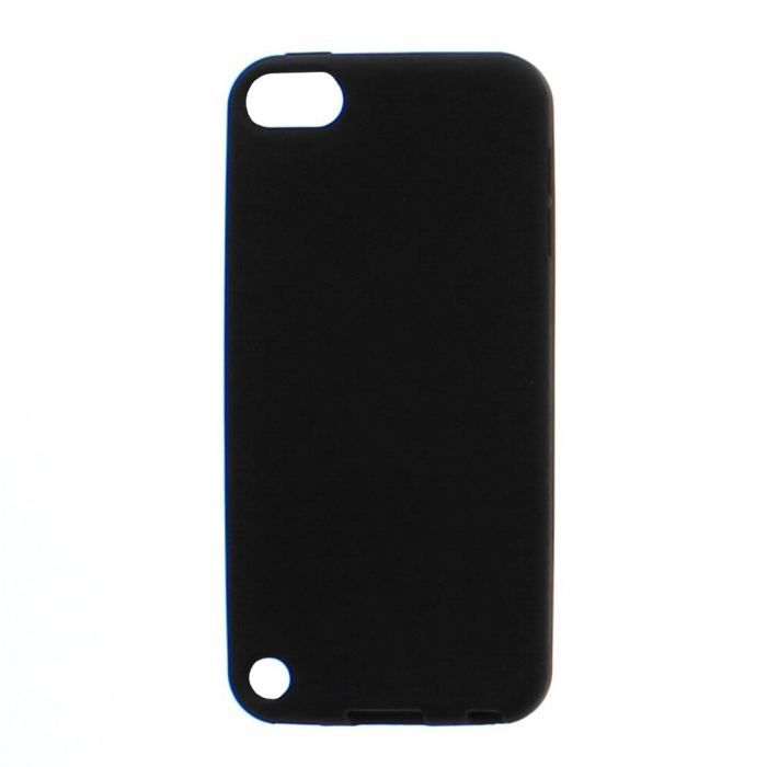 t 39 nb coque silicone noire pour ipod touch 5 coque mp3. Black Bedroom Furniture Sets. Home Design Ideas