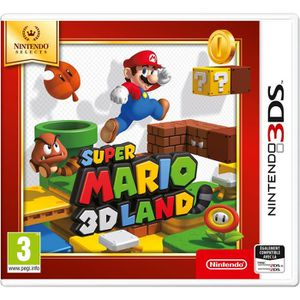 JEU 3DS Super Mario 3D Land Nintendo Selects Jeu 3DS