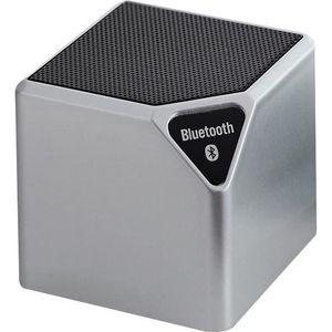 ENCEINTE NOMADE Mini enceinte lumineuse Bluetooth Bigben gris méta