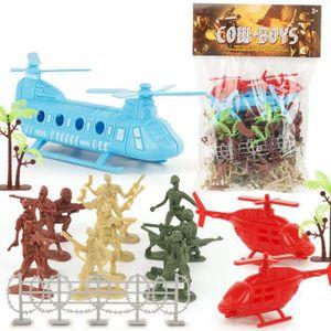 JEU D'APPRENTISSAGE 86 PCS militaire modèle de jouet pour enfants Joue