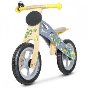 DRAISIENNE CASPER Draisienne vélo en bois sans pédale de 3 à