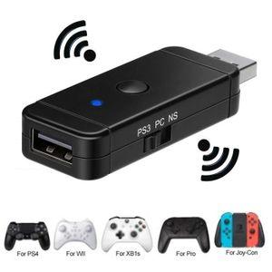 ADAPTATEUR MANETTE Adaptateur sans fil de Manette pour Xbox / PS3 / P