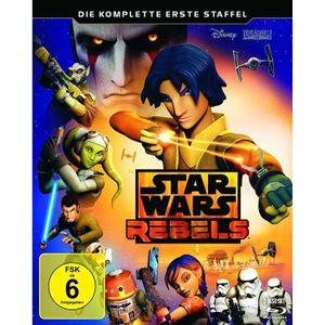 BLU-RAY FILM Star Wars Rebels - 1. Staffel [Blu-ray] [Import an
