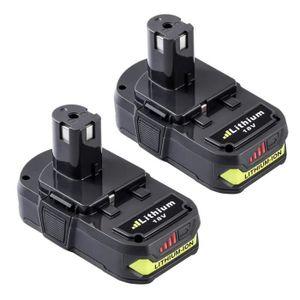 Pack Remplacement de Batterie Pour Ryobi P108 P107 P104 P105 P102 P103