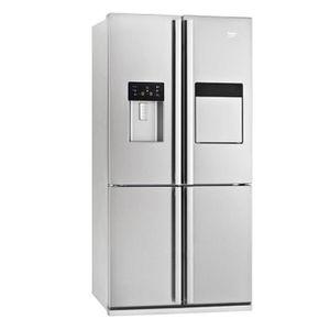 RÉFRIGÉRATEUR AMÉRICAIN Réfrigérateur américain Beko GNE134630X