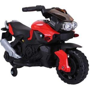 MOTO - SCOOTER Moto Electrique pour enfant - 20 W - Rouge