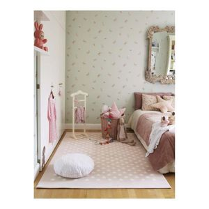 tapis chambre bebe rose achat vente pas cher. Black Bedroom Furniture Sets. Home Design Ideas