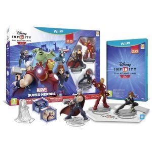 JEU WII U Disney Infinity 2.0 Marvel Superheroes Starter Pac