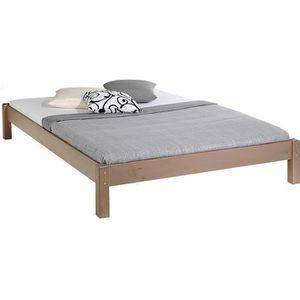 FUTON Lit futon double pour adulte TAIFUN 140 x 190 cm,