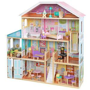 MAISON POUPÉE KidKraft - Maison de poupées en bois Grand View -