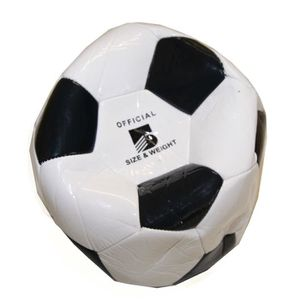 BALLE - BOULE - BALLON Ballon de Foot Football Simili Cuir Vintage Off...