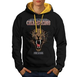 SWEATSHIRT Des sports Chapnions Animal Champions Men S-2XL Sw