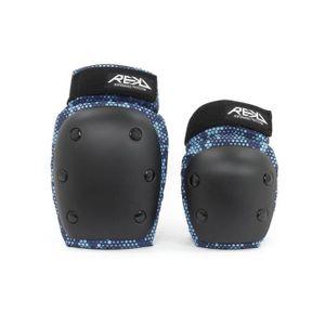 Rekd Kit de Protection Skateboard Heavy Duty Triple Noir