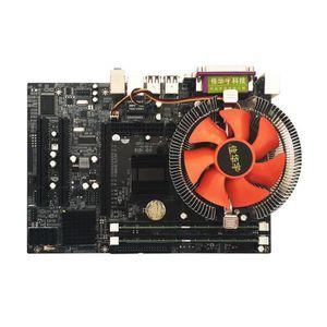 CARTE MÈRE Carte mère d'ordinateur avec processeur quad core