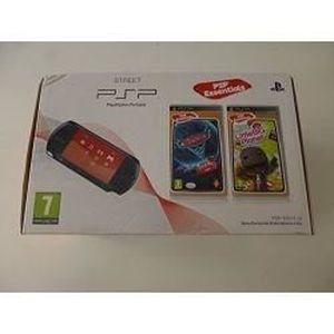 CONSOLE PSP Sony Console psp street noire + Little big planet