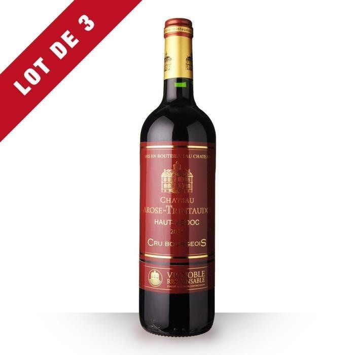 3X Château Larose Trintaudon 2014 Rouge 75cl AOC Haut-Médoc - Vin Rouge