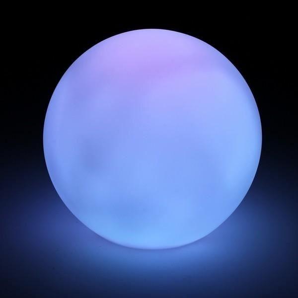 Lampes a poser Boule decorative lumineuse multicolore a led - O 7 cm