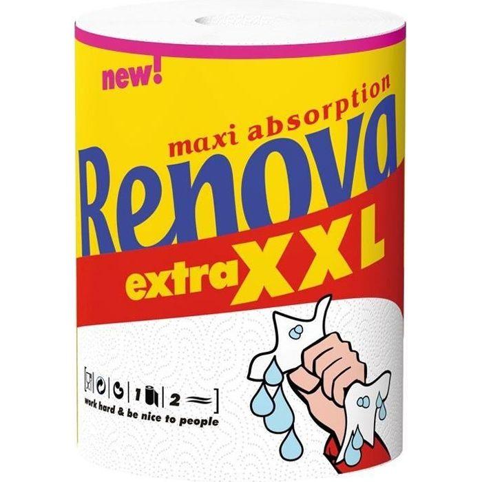 RENOVA Essuie tout Renova extra XXL - 1 rouleau
