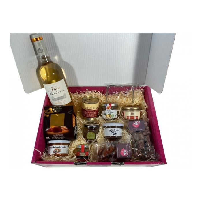 Coffret gourmand made in France