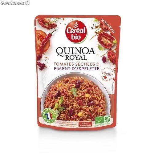 CEREAL BIO Quinoa royal Tomates séchées et piment d'espelette