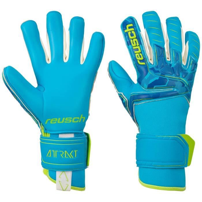 Reusch Attrakt Pro AX2 Evolution NC Gants de gardien de but