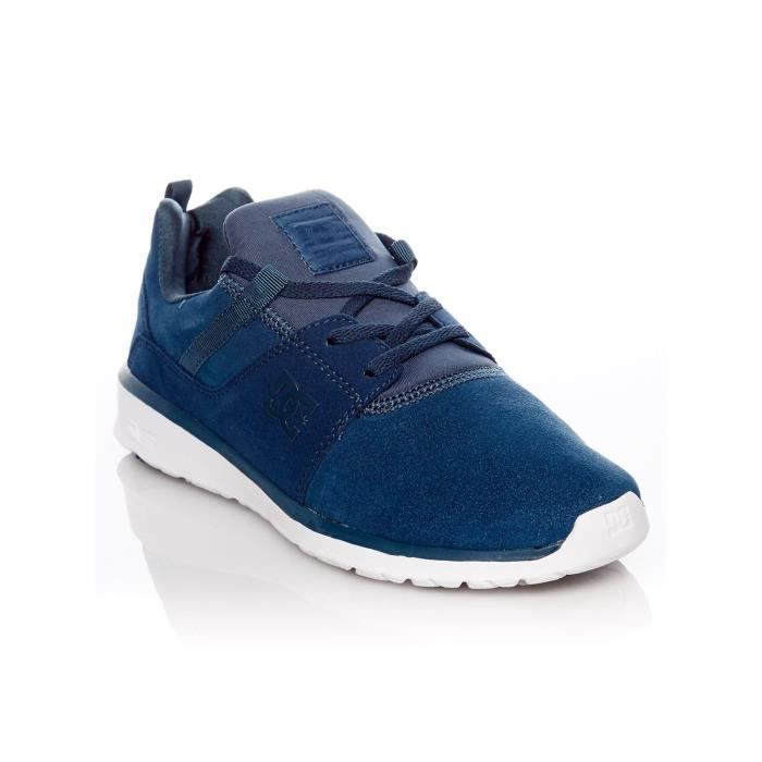 Chaussures Femme Dc Heathrow - Special Edition Bleu Fonce