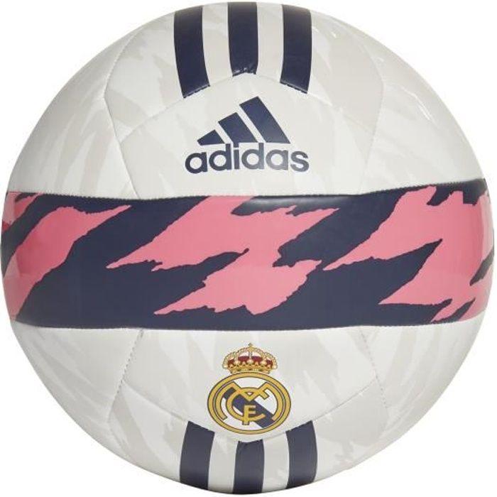 Ballon Real Madrid Club - blanc/rose/noir - Taille 5
