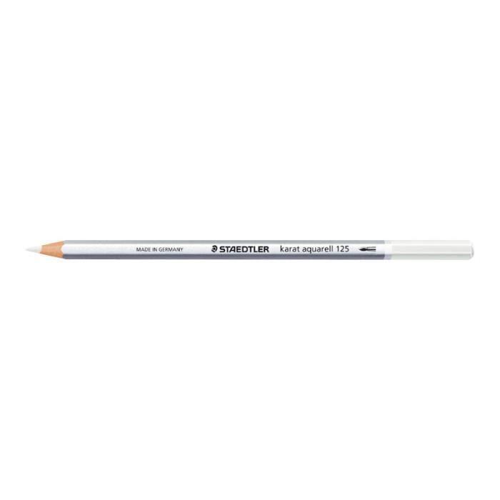 STAEDTLER karat aquarell 125 Crayon de couleur blanc