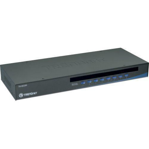 Trendnet TK-803R KVM 8 ports VGA USB et PS/2 Rackable - 0710931304305
