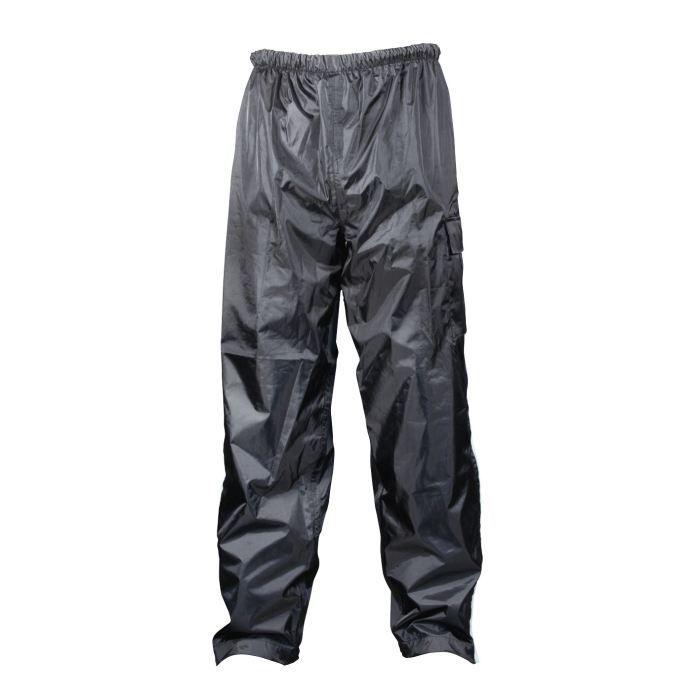 TBC Pantalon Pluie Polyester Noir