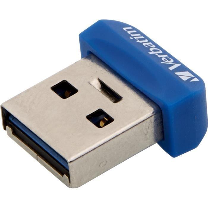 Verbatim Store 'n' Stay Nano. Capacité: 32 Go, Version USB: USB 3.0 (3.1 Gen 1), Connecteur USB Type-A.