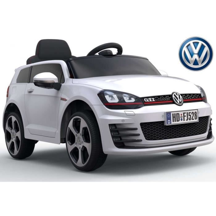 v hicule enfants voiture lectrique vw golf gti 7 achat vente voiture enfant cdiscount. Black Bedroom Furniture Sets. Home Design Ideas
