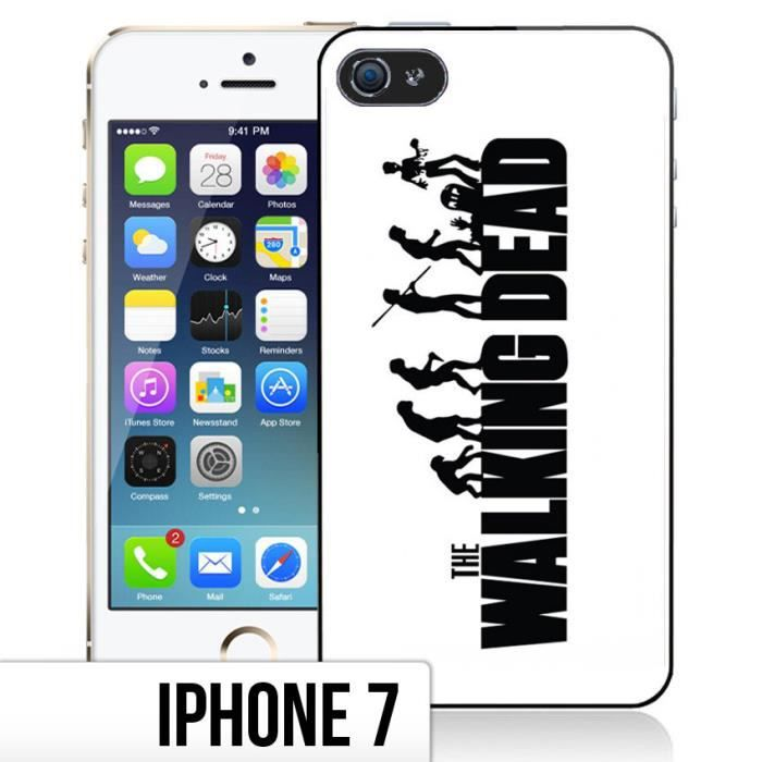 coque iphone 7 the walking dead evolution