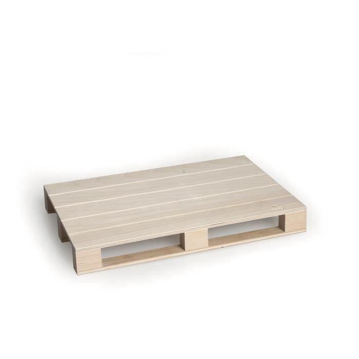 PLANCHE A DÉCOUPER Excelsa Real Wood Planche à découper à Servir Pale