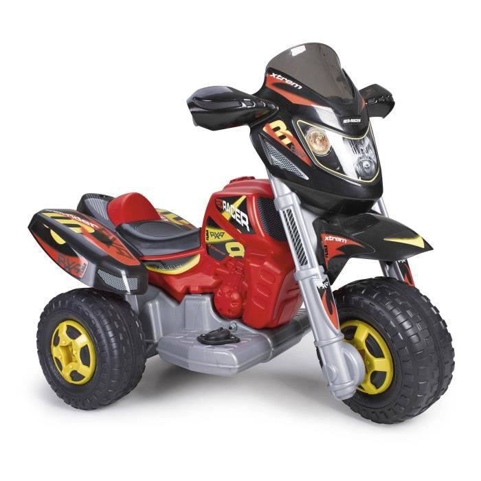 feber moto electrique enfant trimoto xtrem red racer 11 pouces achat vente moto scooter. Black Bedroom Furniture Sets. Home Design Ideas