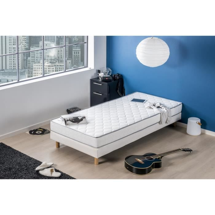 finlandek matelas 90x200 mousse 30kg m ferme kiva achat vente matelas soldes. Black Bedroom Furniture Sets. Home Design Ideas