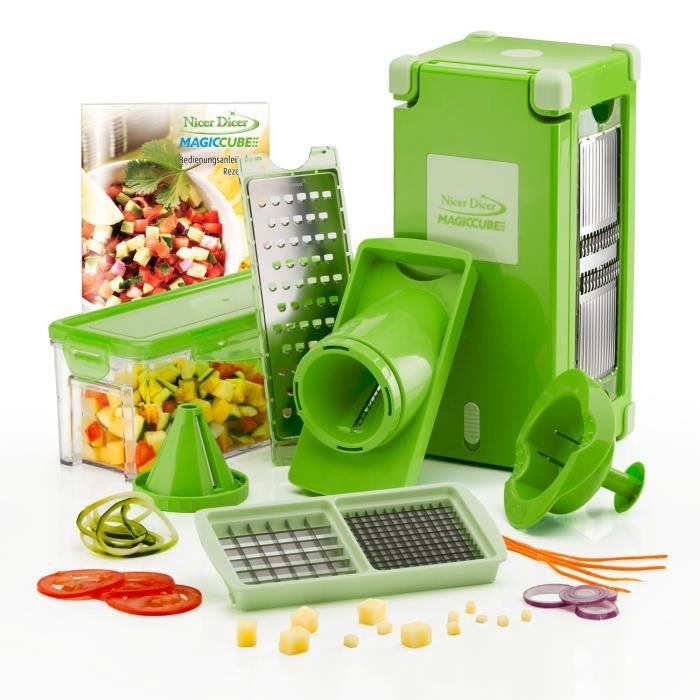 Coupe legume nicer dicer achat vente coupe legume nicer dicer pas cher cdiscount - Nicer dicer coupe legumes ...