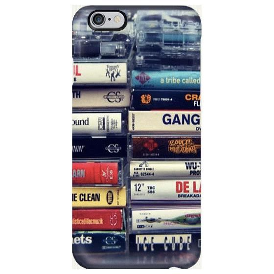 Coque Iphone 11 cassette summer time K7 noir