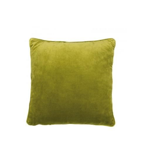 coussin velours vert mousse 50 x 50 achat vente. Black Bedroom Furniture Sets. Home Design Ideas
