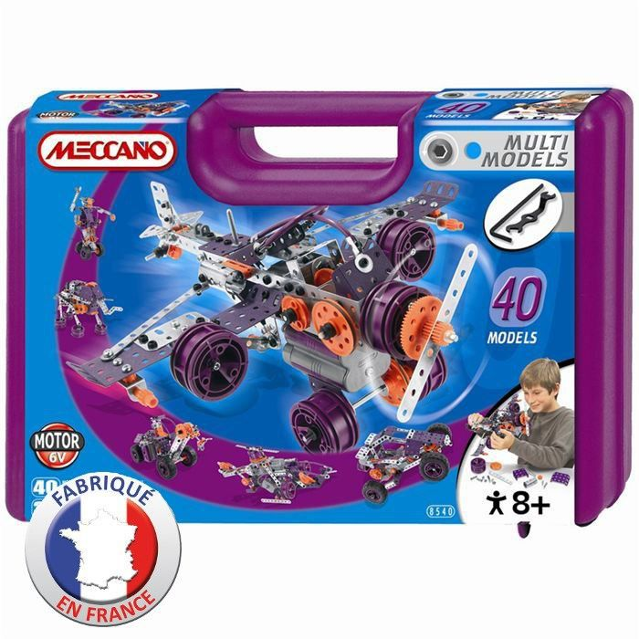 meccano 40 mod les set achat vente assemblage construction cdiscount. Black Bedroom Furniture Sets. Home Design Ideas