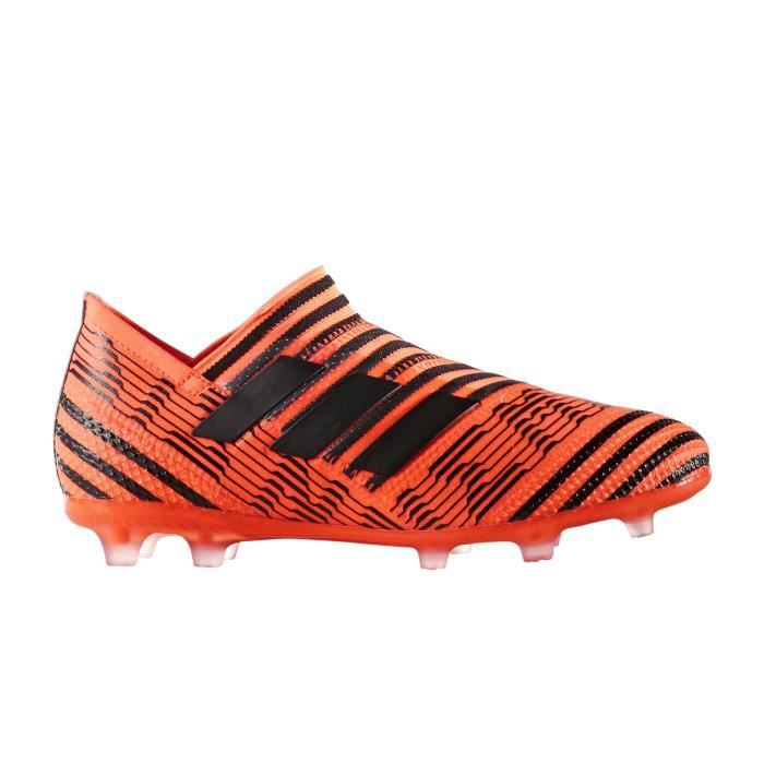 san francisco df905 f1b83 Chaussures football adidas Nemeziz 17+ 360 Agility FG Orange-Noir Junior
