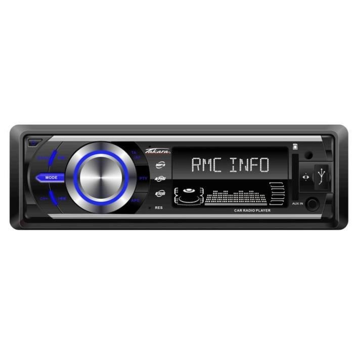 takara rdu1540 autoradio bluetooth sd usb aux. Black Bedroom Furniture Sets. Home Design Ideas