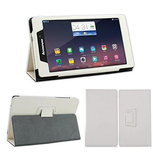etui coque tablette lenovo tab 2 a7 10 7 pouces blanc housse pochette achat housse tui. Black Bedroom Furniture Sets. Home Design Ideas