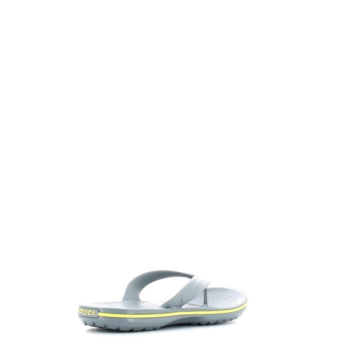Crocs Tongs Man Concrete/chartreuse otxYgbyuZ